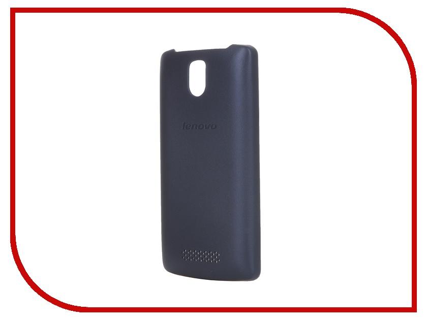 Аксессуар Чехол Lenovo A1000 PG38C00613 Black Blue<br>