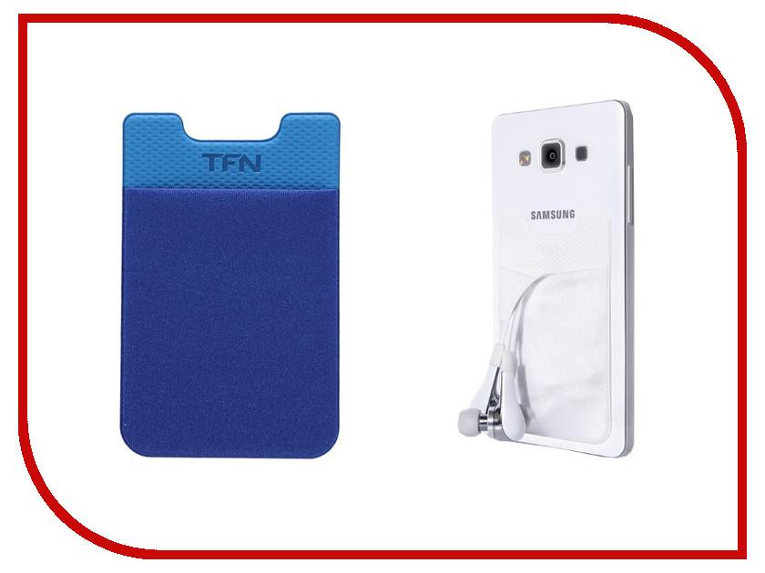 Аксессуар TFN Кармашек для кредитных карт Blue<br>