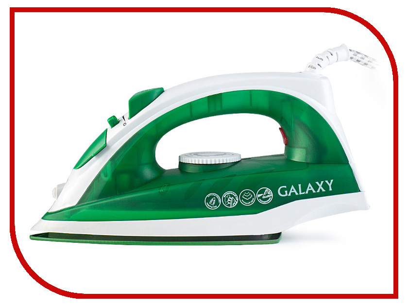 Утюг Galaxy GL 6121 Green утюг galaxy gl 6101