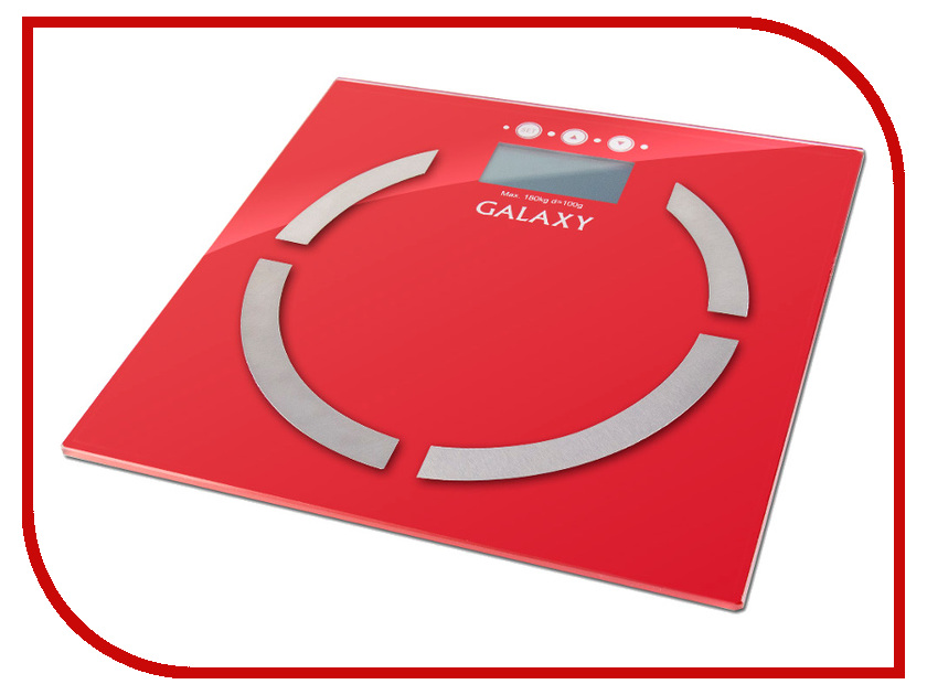 Весы Galaxy GL 4851 Red<br>