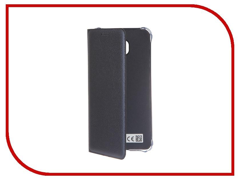 Аксессуар Чехол Samsung Galaxy A3 2016 Flip Wallet Cover Black EF-WA310PBEGRU<br>