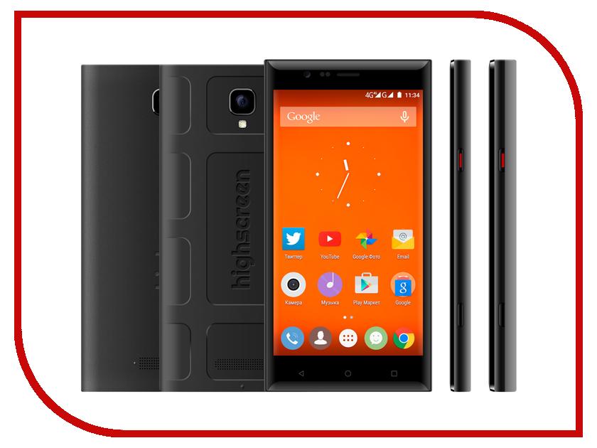 Сотовый телефон Highscreen Boost 3 Black<br>