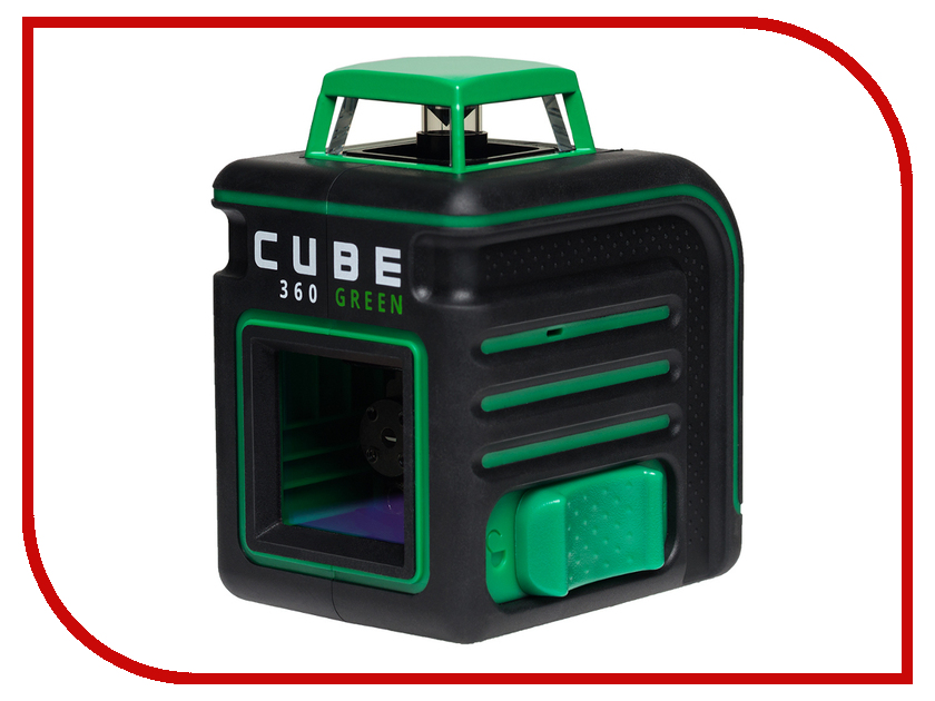 Нивелир ADA CUBE 360 Green Ultimate Edition А00470 нивелир ada cube 2 360 home edition a00448
