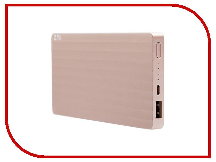 Аккумулятор Xiaomi Mi ZMI PB810 10000mAh Golden