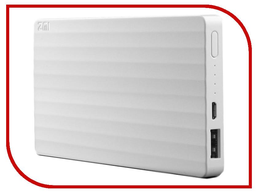 Аккумулятор Xiaomi ZMI 10000 mAh White<br>