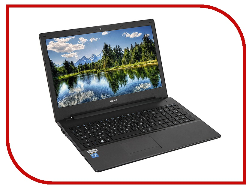 Ноутбук DEXP Aquilon O155 814770 (Intel Celeron N3050 1.6 GHz/2048Mb/500Gb/DVD-RW/Intel HD Graphics/Wi-Fi/Bluetooth/Cam/15.6/1366x768/Windows 10)