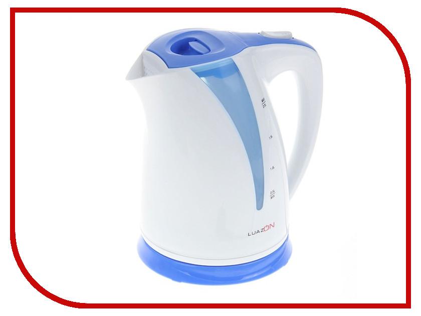 Чайник Luazon LPK-1702 White-Blue 1128705<br>