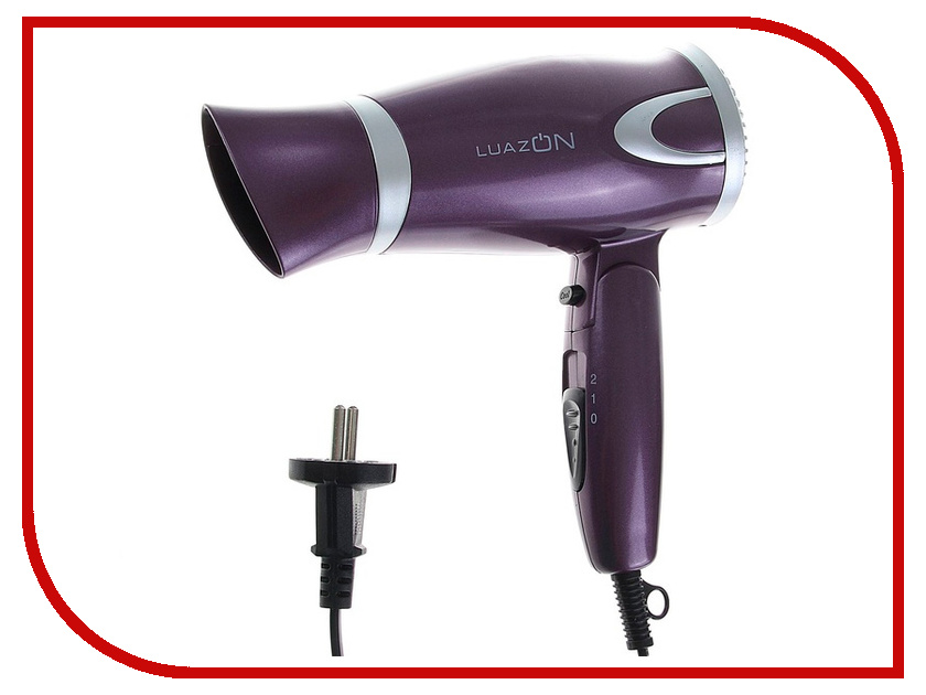 Фен Luazon LF-01 1131111 Violet<br>