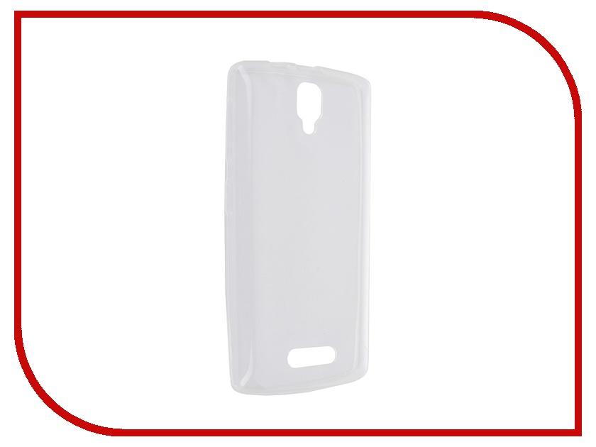 Аксессуар Чехол Lenovo A1000 iBox Crystal Transparent ibox ibox crystal для lenovo p70
