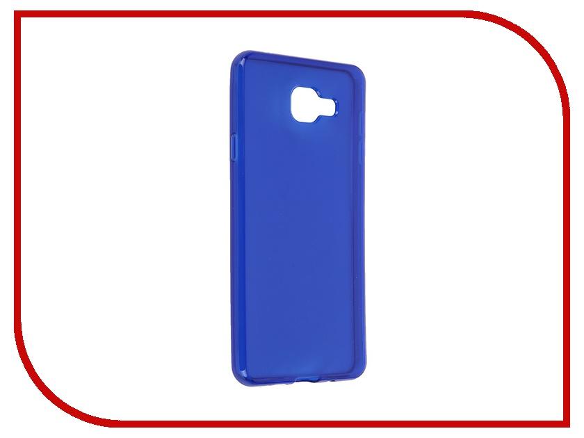 Аксессуар Чехол-накладка Samsung Galaxy A7 2016 iBox Crystal Blue