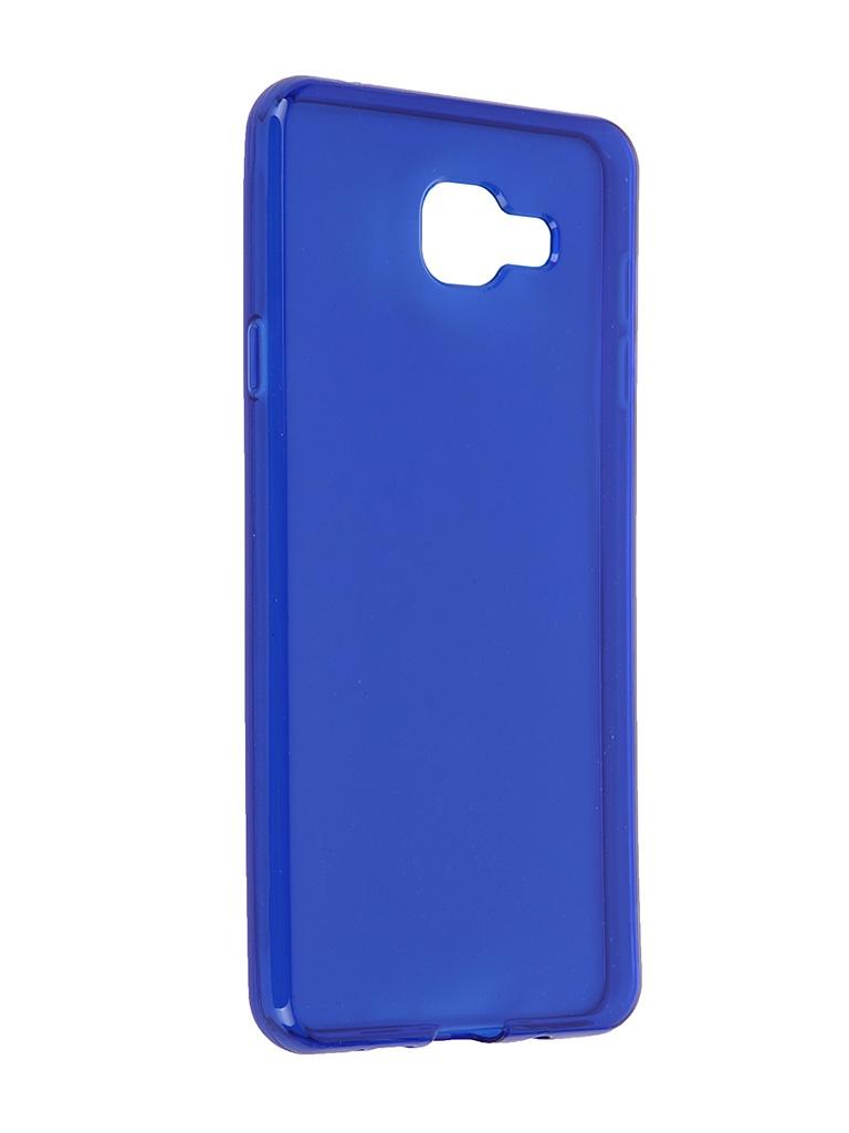 Аксессуар Чехол Samsung Galaxy A7 2016 iBox Crystal Blue<br>