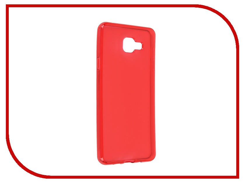 Аксессуар Чехол-накладка Samsung Galaxy A7 2016 iBox Crystal Red