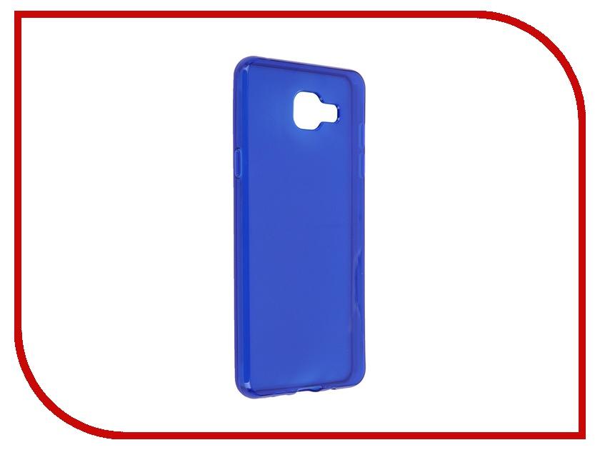 Аксессуар Чехол-накладка Samsung Galaxy A5 2016 iBox Crystal Blue<br>