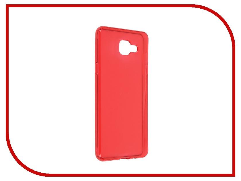 Аксессуар Чехол-накладка Samsung Galaxy A5 2016 iBox Crystal Red<br>