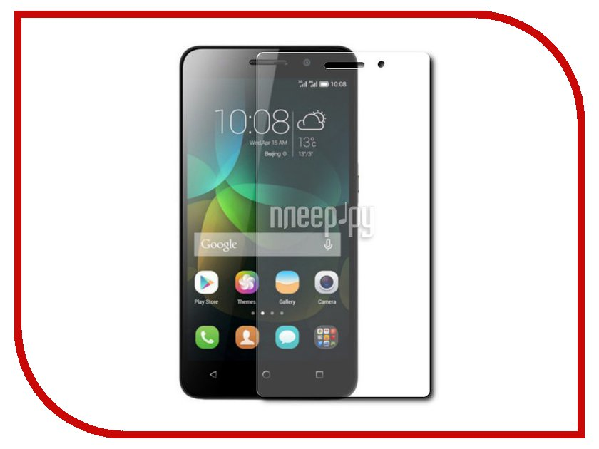 Аксессуар Защитное стекло Huawei Honor 4C Red Line Tempered Glass<br>