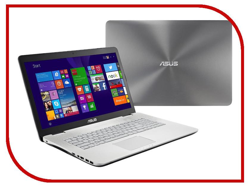 Ноутбук ASUS N751JX-T7215T 90NB0842-M02600 Intel Core i7-4750HQ 2.0 GHz/8192Mb/1000Gb/DVD-RW/nVidia GeForce GTX 950M 2048Mb/Wi-Fi/Bluetooth/Cam/17.3/1920x1080/Windows 10 64-bit<br>