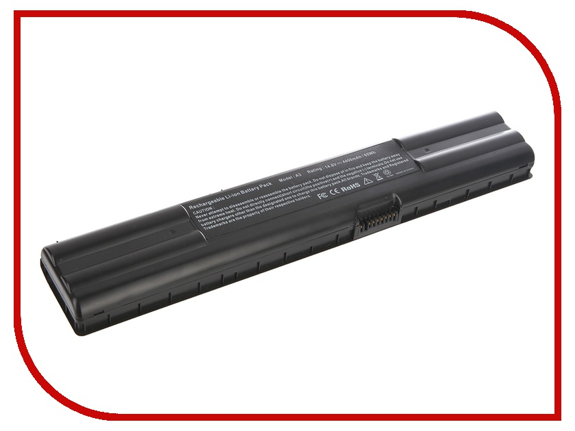 Аккумулятор Tempo LPB-A3 for ASUS A3/A3000G/A6Vm/A6Vc/A6Rp/A6T/A6Va/A6Jm/A6000L/A6000R/A6000N/A7/G1/G2/Z91N/Z92J/Z910