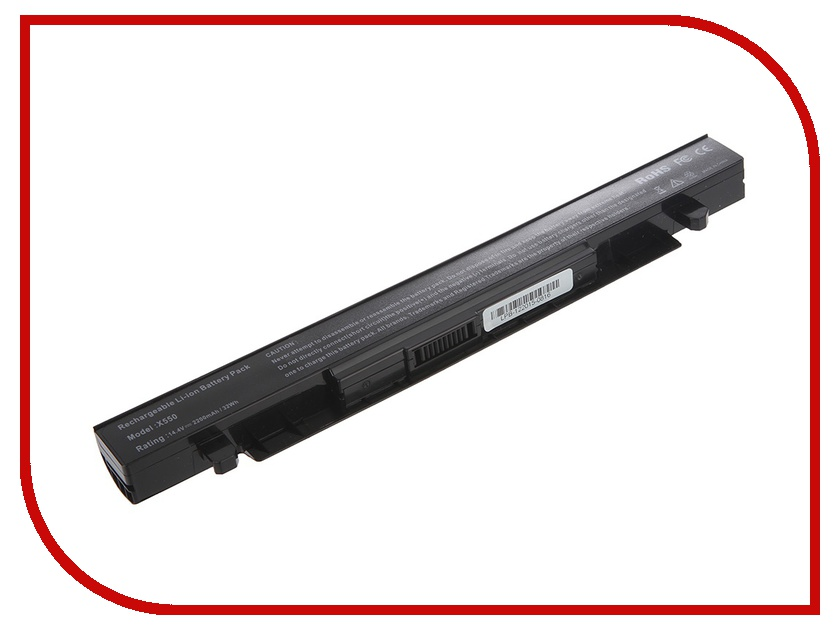 Аккумулятор Tempo LPB-X550 14.4V 2200mAh for ASUS X550/X550D/X550A/X550L/X550C/X550V/X450CA/X450CC/X450LB wzsm new laptop lcd lvds video cable for asus x550 x550ca x550cl x550d x550e p n 1422 01m6000