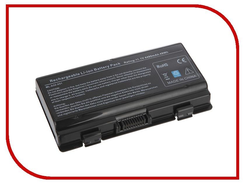 Аккумулятор Tempo LPB-X51 11.1V 4400mAh for ASUS X51H/X51RL/T12C/T12Er/T12Jg/T12Ug/T12Fg/T12Mg/X58/X85L Series