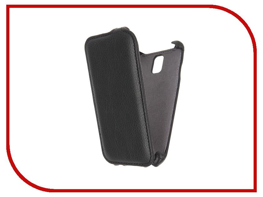 Аксессуар Чехол Lenovo A1000 iBox Premium Black<br>