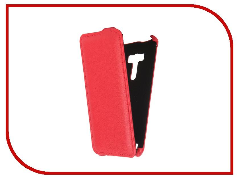 Аксессуар Чехол ASUS ZenFone Selfie ZD551KL Gecko Red GG-F-ASZE551KL-RED<br>