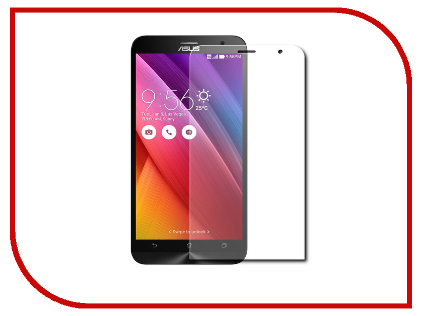Аксессуар Защитное стекло для ASUS Zenfone 2 Laser ZE500KL Onext Eco 43005 new 5 inch lcd display glass touch screen digitizer assembly for asus zenfone 2 laser ze500 ze500kl z00ed replacement parts
