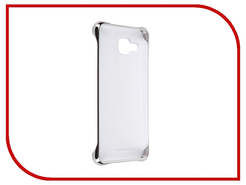 Аксессуар Чехол-накладка Samsung Galaxy A3 2016 Clear Cover Grey EF-QA310CSEGRU<br>