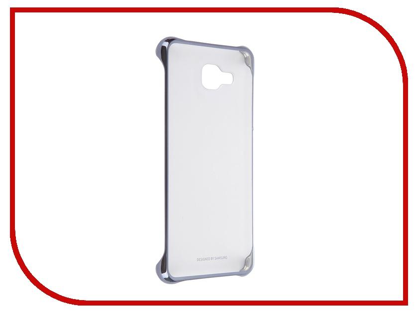 Аксессуар Чехол-накладка Samsung Galaxy A5 2016 Clear Cover Black EF-QA510CBEGRU<br>