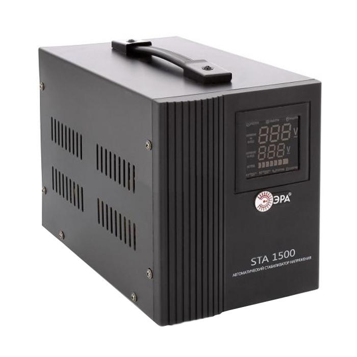 Стабилизатор Эра STA-1500 1500WA C0036567<br>