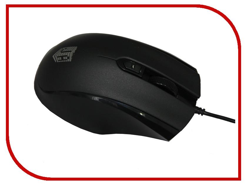 Мышь проводная Jet.A Comfort OM-U50 Black