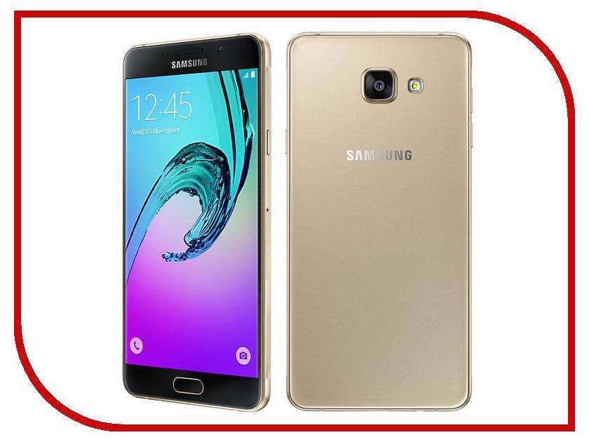 Сотовый телефон Samsung SM-A710F Galaxy A7 (2016) Gold<br>