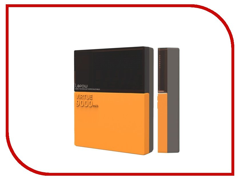 Аккумулятор Lepow Virtue 9000 mAh Orange<br>