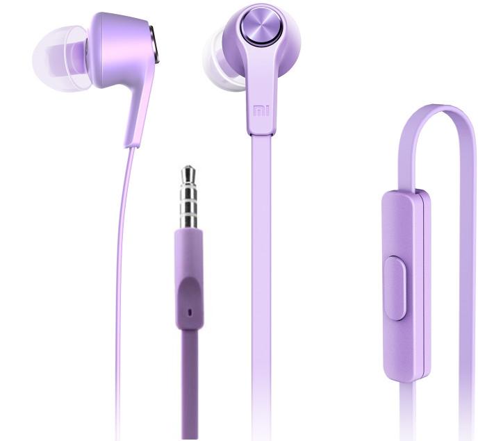 Гарнитура Xiaomi Piston Colorful Edition Purple<br>