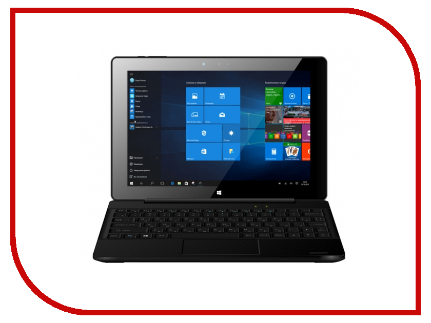 Планшет BB-mobile Techno W10.1 WiFi M101AU Intel Atom Z3735F 1.33 GHz/2048Mb/32Gb/Wi-Fi/Bluetooth/Cam/10.1/1280x800/Windows 10