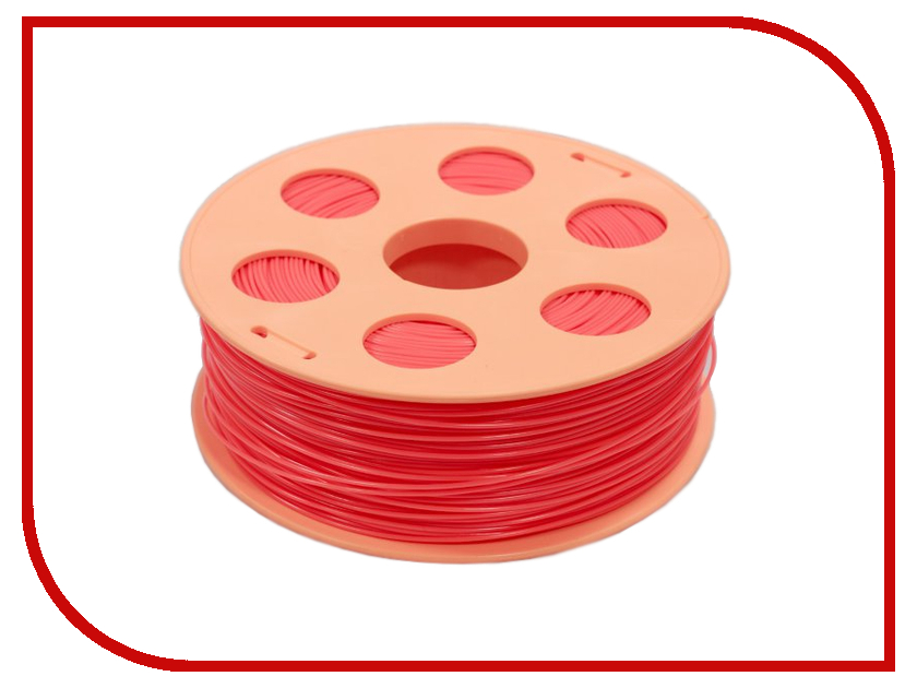 Аксессуар 3Dquality Bestfilament ABS-пластик 1.75mm 1кг Coral