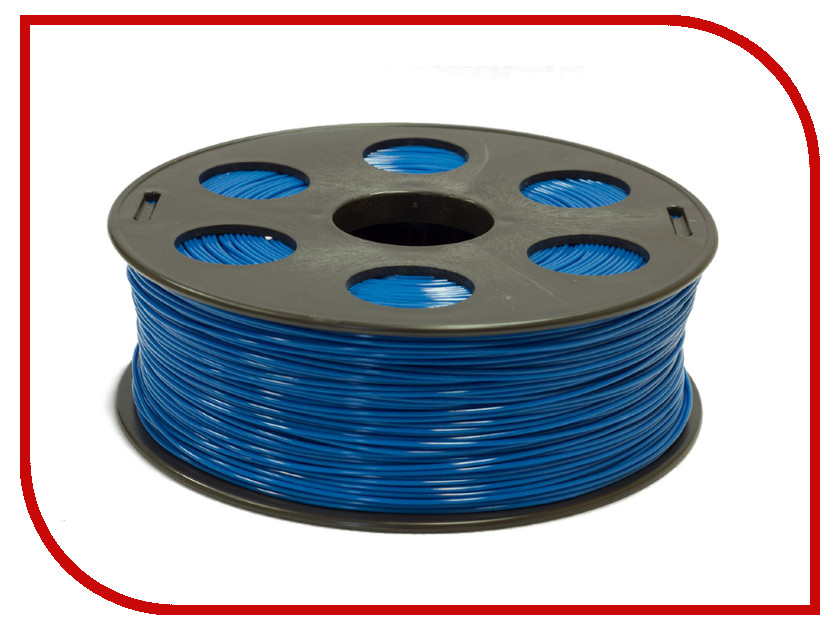 Аксессуар 3Dquality Bestfilament ABS-пластик 1.75mm 1кг Blue<br>