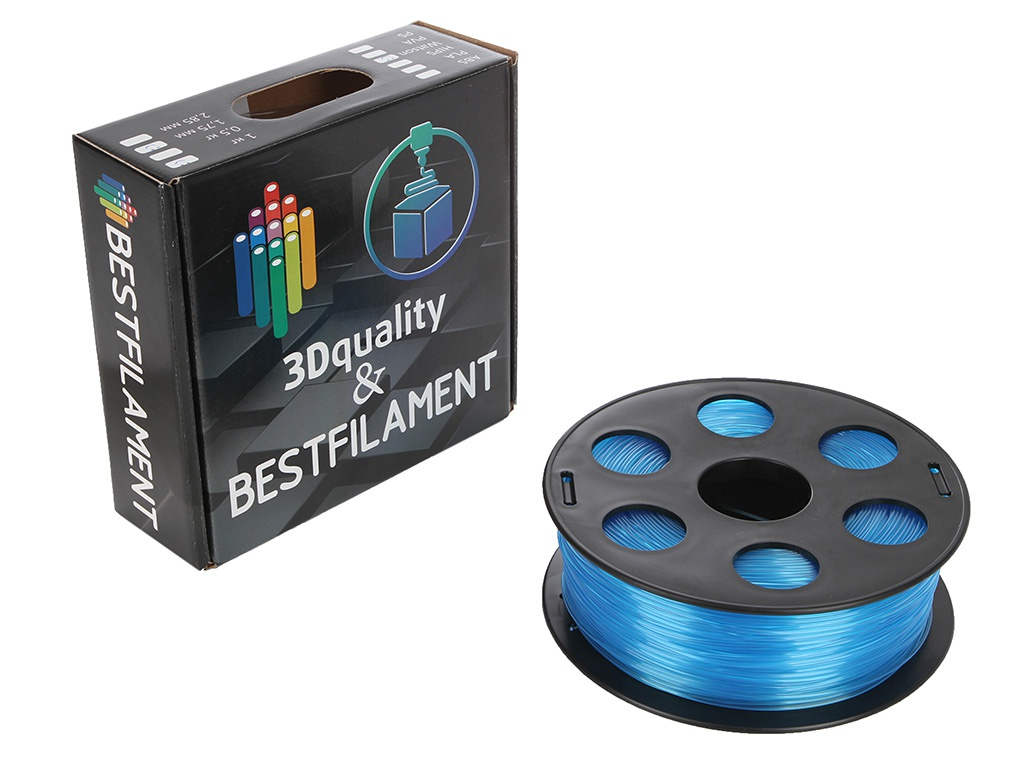 Аксессуар Bestfilament Ватсон SBS-пластик 1.75mm 1кг Light Blue