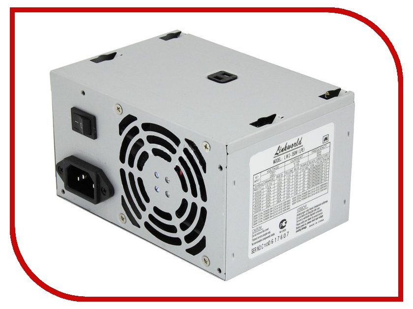 Блок питания LinkWorld ATX 350W LW2-350W блок питания atx 350 вт linkworld lw2 lpe