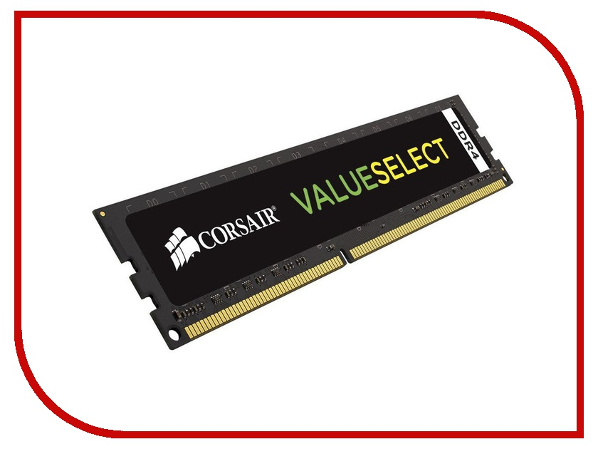 Модуль памяти Corsair ValueSelect DDR4 DIMM 2133MHz PC4-17000 CL15 - 16Gb CMV16GX4M1A2133C15