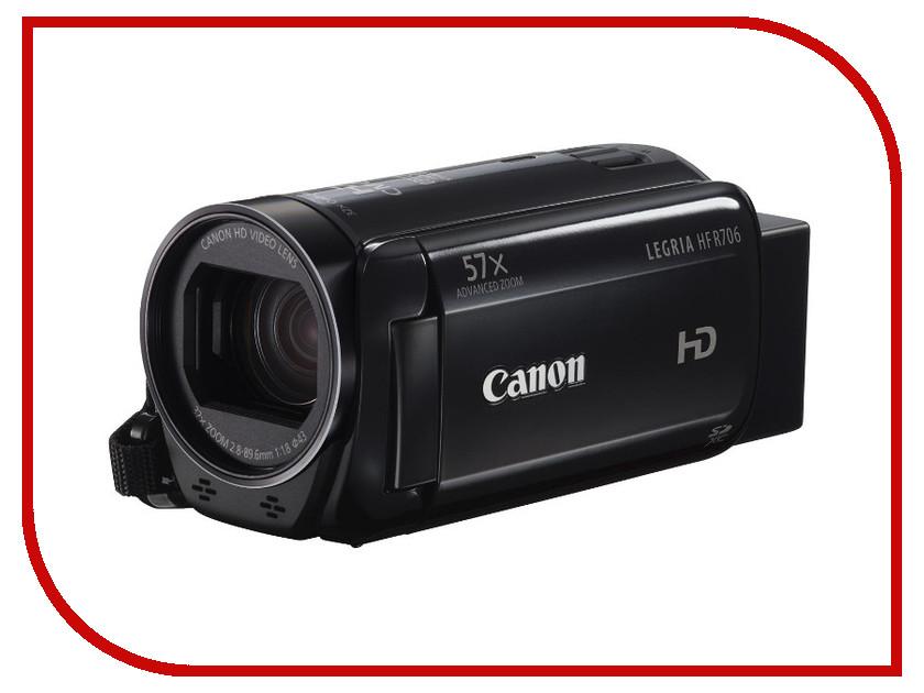Zakazat.ru: Видеокамера Canon R706 Legria HF Black