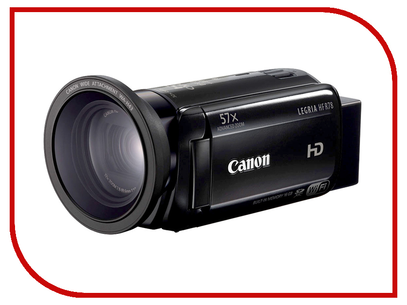 Видеокамера Canon R78 Legria HF*