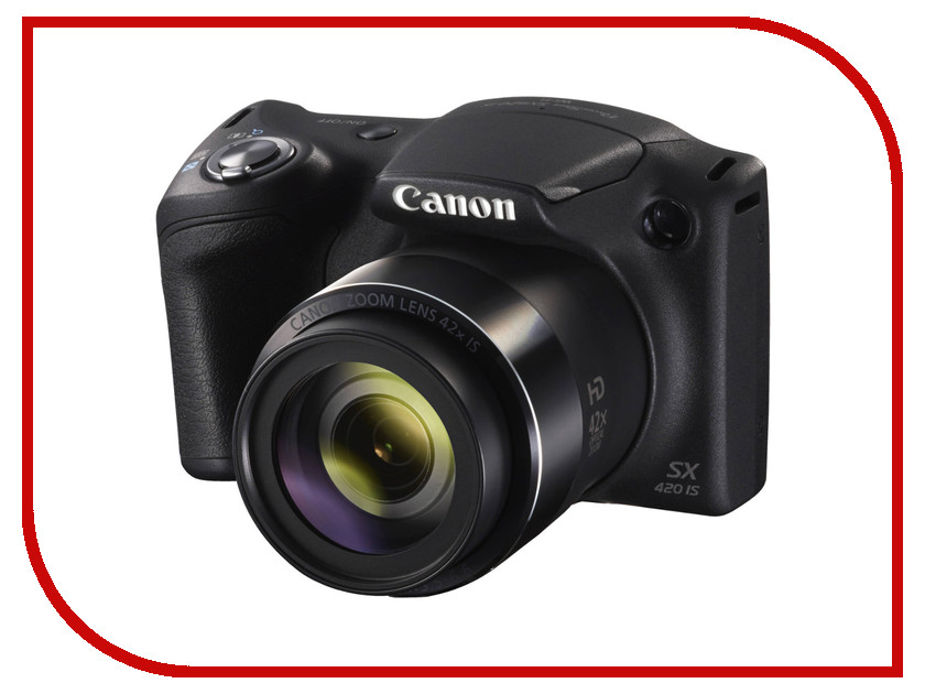 Фотоаппарат Canon PowerShot SX420 IS Black<br>