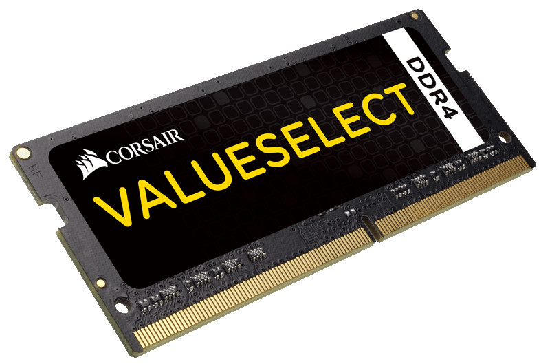 Модуль памяти Corsair ValueSelect DDR4 SO-DIMM 2133MHz PC4-17000 CL15 - 8Gb CMSO8GX4M1A2133C15