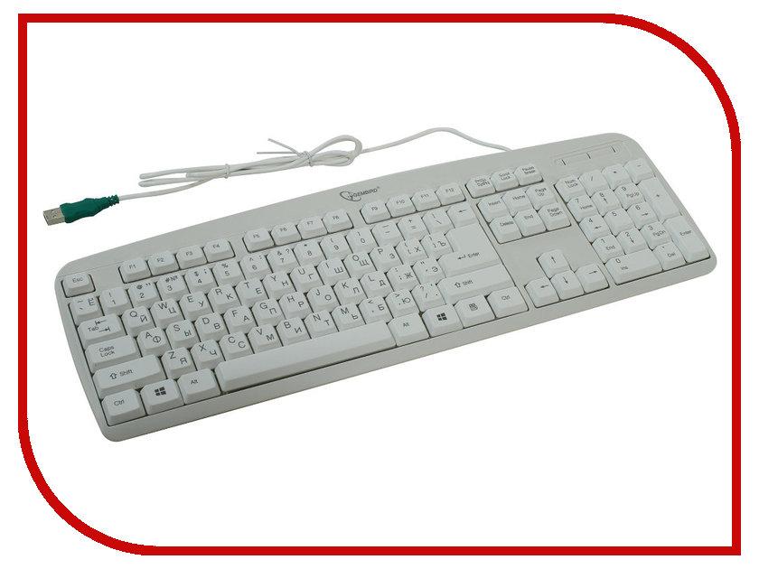 Клавиатура Gembird KB-8350U Beige USB<br>