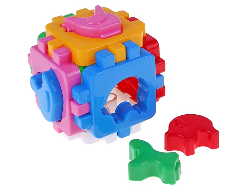 Сортер Технок Умный малыш. Домашние животные 590052 сортер жирафики веселые животные