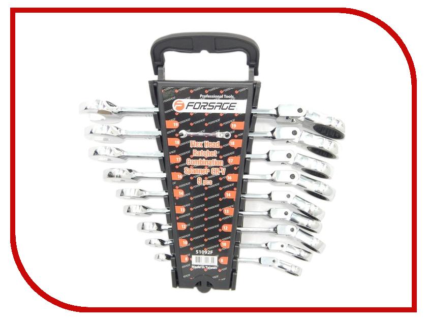 Набор инструмента Forsage 51092F  набор инструмента forsage 014 9 msa
