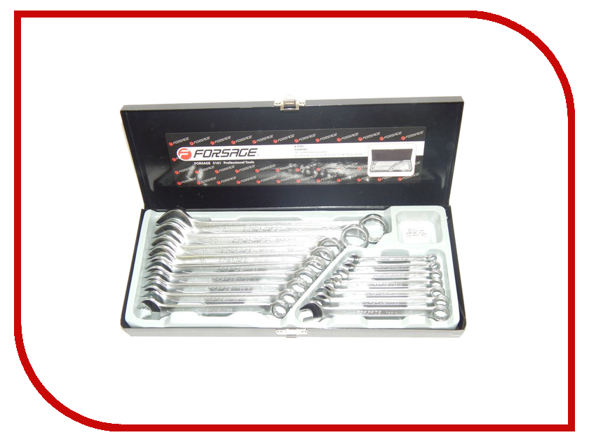Набор инструмента Forsage 5161  набор инструмента forsage 4123 5