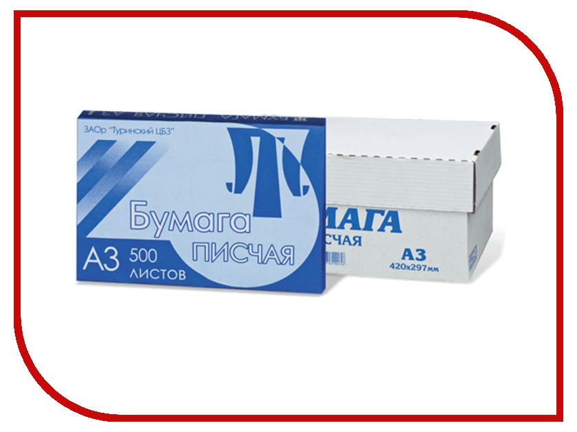 Бумага Туринск A3 65г/м2 500 листов 110323 бумага туринск a4 80г м2 200 листов