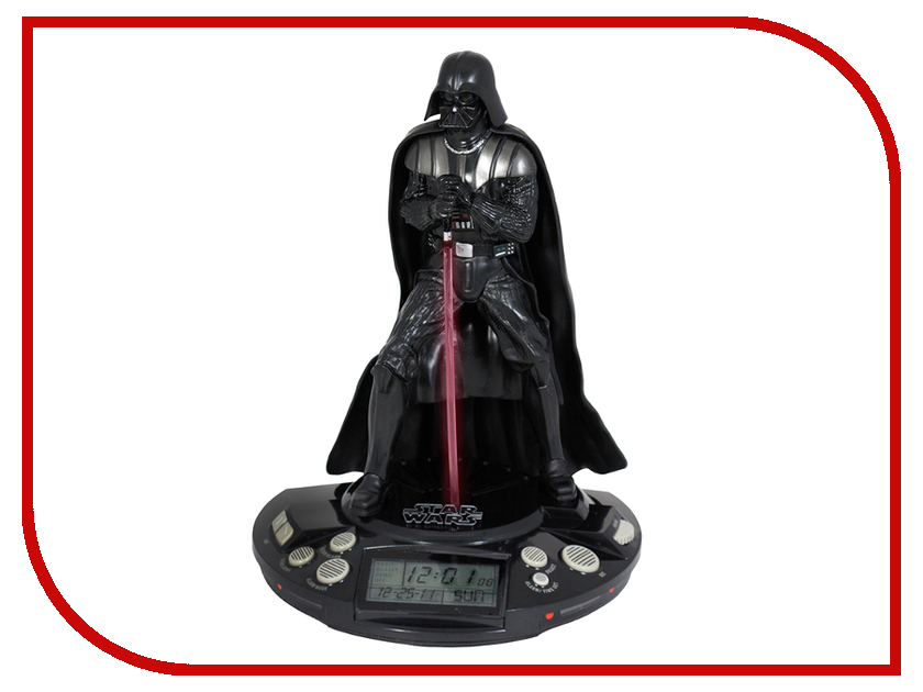Гаджет Jazwares Star Wars Darth Vader Alarm Clock 15200<br>