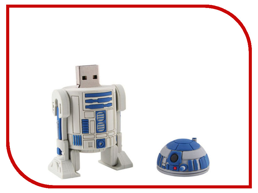USB Flash Drive 4Gb - Jazwares Star Wars R2D2 15297